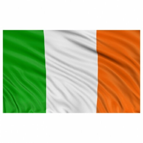 BRAND NEW 5ftx 3ft IRELAND TRI COLOURS FLAG Emblems-Gifts