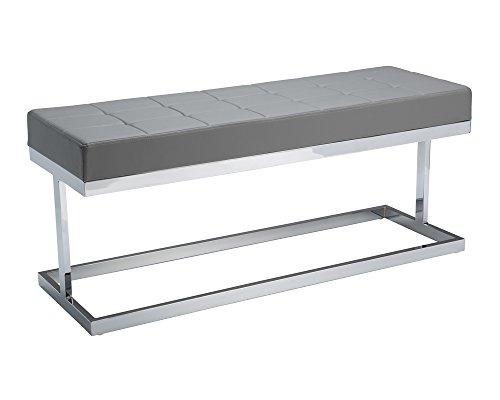 Sunpan Modern 13308 Viceroy Bench, Grey