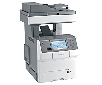 Lexmark X740 X748DE Laser Multifunction Printer - Color - Copier/Fax/Printer/Scanner - 2400 x 600 dpi Print - Duplex Print - Gigabit Ethernet - USB