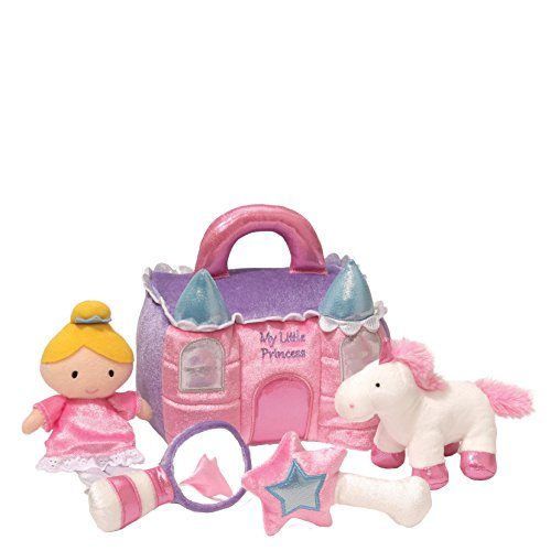 Gund Baby Princess Castle Playset Toy, 8
