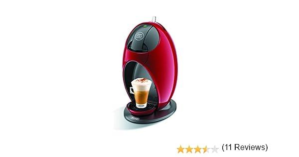 DeLonghi Jovia EDG250.R - Cafetera (Independiente, Rojo, Espresso ...