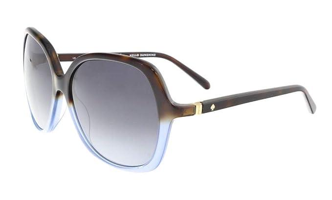 46d369b7deb8 Kate Spade Plastic Frame Grey Gradient Lens Ladies Sunglasses  JONELLSS5H5815125: Amazon.ca: Watches