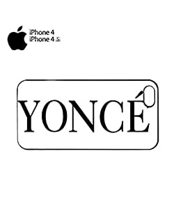 Yonce Music Flawlass Woke Up Mobile Cell Phone Case Cover iPhone 4&4s Black