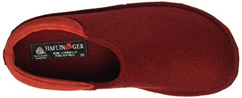 Haflinger Smart, Chaussons Mixte Adulte Rouge - Rot (Paprika 42)