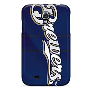 High Quality MXcases Milwaukee Brewers Skin Case Cover Specially Designed For Galaxy - S4