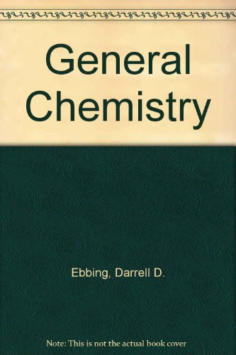 General Chemistry; Student Solutions Manual