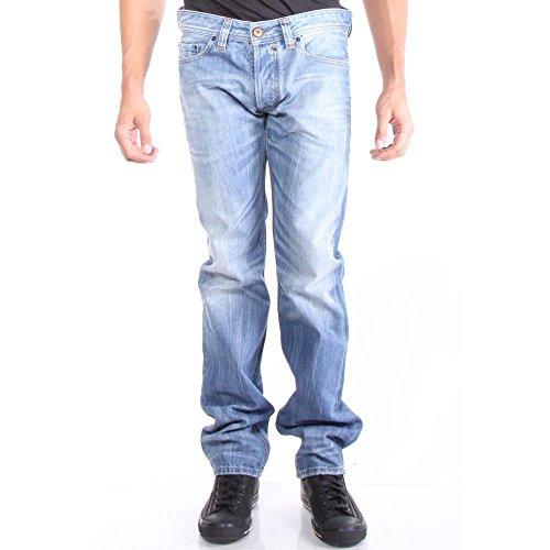 Diesel Men's Safado Regular Slim Straight-Leg Jean 0816P, Denim, 36x32