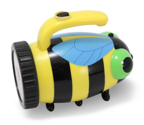 - Melissa & Doug Sunny Patch Bibi Bee Flashlight With Easy-Grip Handle