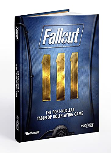 Modiphius Fallout: The Roleplaying Game Core Rulebook,Various
