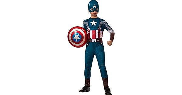 Amazon.com: Captain America 2 - Disfraz de soldado de ...