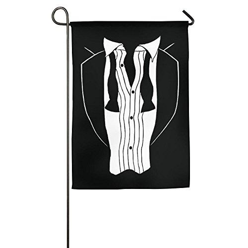 Tuxedo Funny 12 X 18 Prime Garden Flag For Springtime Seal Welcoming Flag