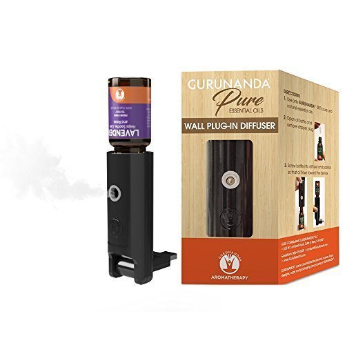 GuruNanda Natural Mist- Wall Plug in Air Freshener - Essential Oil Humidifier Aromatherapy Diffuser to Fill A Room Essential Oils - Humidifiers Bedroom - Bathroom - Kitchen - Home - Office