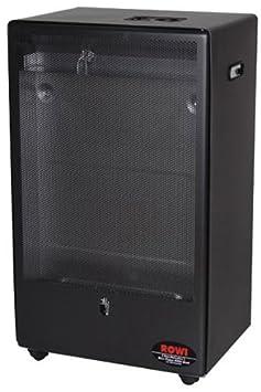 Rowi - Estufa de gas, llama azul, 4200 W, con termostato: Amazon.es: Bricolaje y herramientas