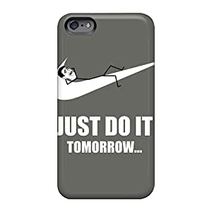 Case88zeng Apple Iphone 6s Excellent Hard Cell-phone Cases Custom Colorful Just Do It Tomorrow Meme Image [tpj3224YXeN]
