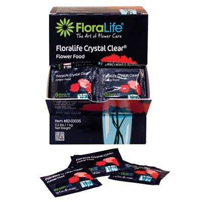Cut Flower Food Floralife Crystal Clear 20 Powdered Packets