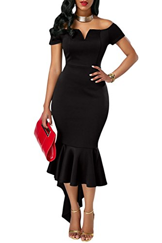 black tail dress - 7