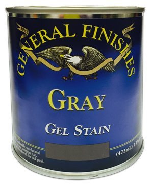 General Finishes Gray Gel Stain, Quart