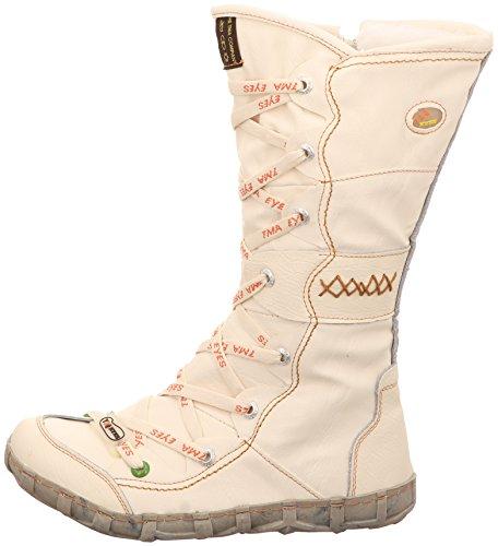 TMA 2088 Stiefel BOOTS Gr.38-42 . durchgehend Gefüttert. Kniehoher Stiefel. Mit Reißverschluss an der Innenseite. Kuschelig Weiß Gr. 36