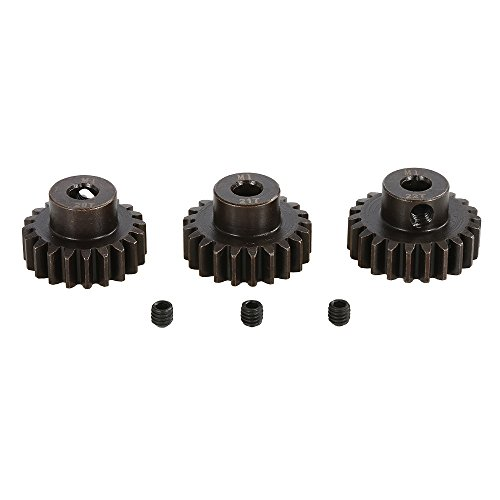Goolsky SURPASS HOBBY M1 20T 21T 22T Pinion Motor Gear for 1/8 RC Buggy Car Monster Truck ()