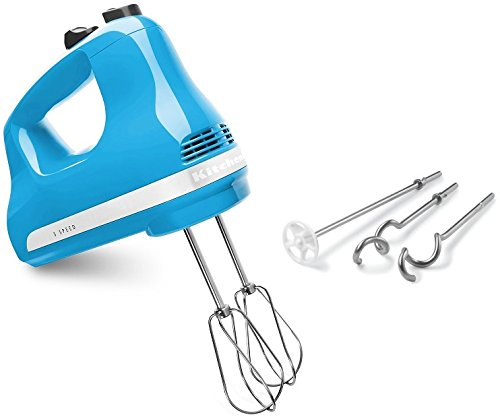 KitchenAid KHM53CL 5-Speed Ultra Power Hand Mixer, Crystal Blue (Kitchenaid Khm512 5 Speed Ultra Power Hand Mixer)