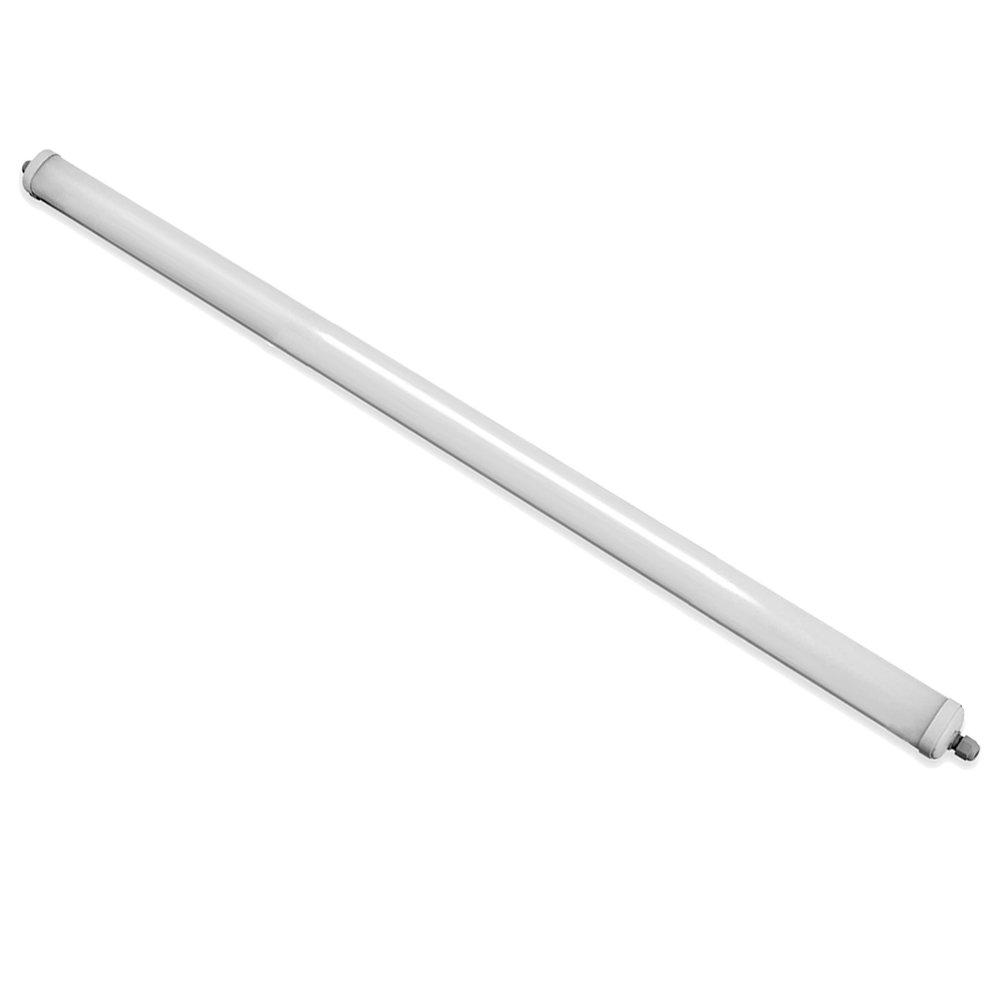T5 48 W Blanc V-TAC SKU.6286 Etanche LED 150cm 48W IP65 VT-1574 Plastique,et Autre materiaux