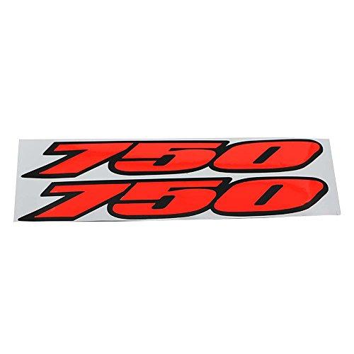 Alpha Rider Decal Sticker Emblem Label Fairing Sticker 750 Fit For SUZUKI GSXR750 GSXR 750 Bling Red Style