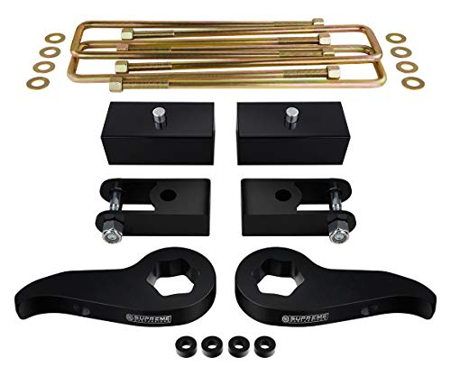 Supreme Suspensions - Full Lift Kit for 2011-2019 Silverado Sierra 2500HD 3500HD Adjustable 1
