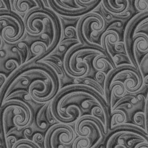 (Cool Tools - Flexible Rollable Texture Tile - Curly Vines)
