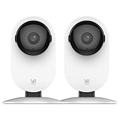 Building on the success of the #1 best-selling YI Home Camera, the YI Home Camera 1080p delivers high definition videos of your home, so you can view every moment in even clearer quality. Its Baby Crying Detection technology also acts as a st...