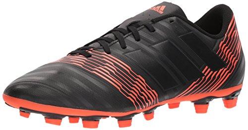 Adidas Mænds Nemeziz 17,4 Fxg Fodbold Sko Kerne Sort / Kerne Sort / Sol Rød