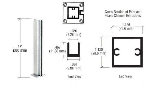 - CRL Satin Anodized Standard 12