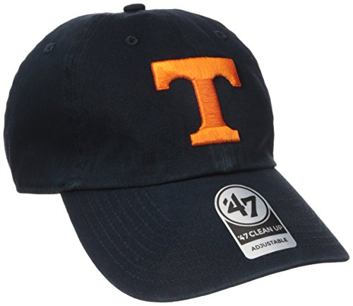 '47 NCAA Tennessee Volunteers Clean Up Adjustable Hat, Navy,