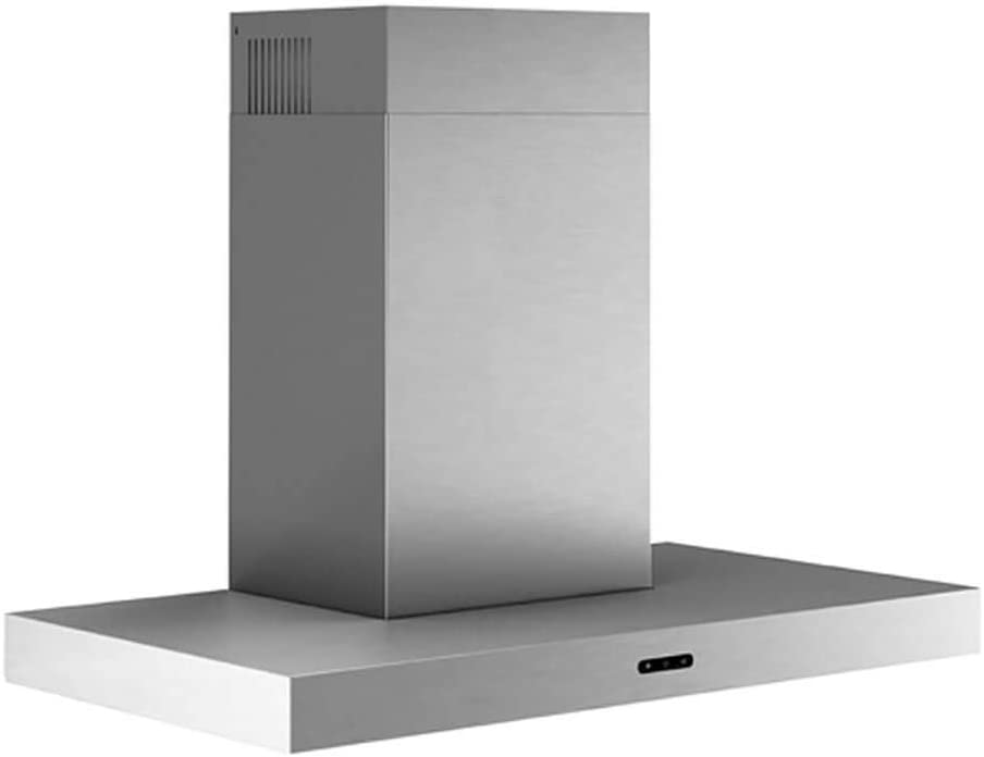 Broan-NuTone EW4330SS Wall-Mount Stainless Steel Chimney Insert with LED Light, 400 CFM, 30-Inch Range Hood