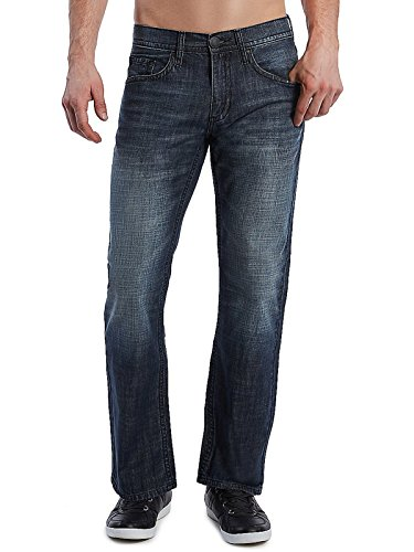 Guess Factory Men's Rowland Relaxed Straight Jeans (Men Jeans Guess)