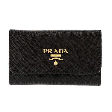 PRADA プラダ 1PG222 S/ME/NER キーケース レディース [並行輸入品] u1-pr-1pg222s-me-ner-ak B07DN8Q9RY