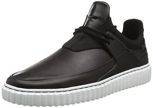 Loisirs Créatifs Mens Castucci Sneakers Noir / Blanc