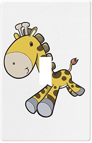 Baby Giraffe runningウォールプレート装飾スイッチプレートカバー( 1 GAN。。 1 B00M9A0FJ0。 Baby B00M9A0FJ0, ミシマシ:d855f039 --- sayselfiee.com