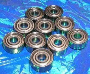 "3//4/"" x 1 5//8/"" x 1//2/"" 3x 1630 ZZ Metal Shielded Radial Ball Bearings"