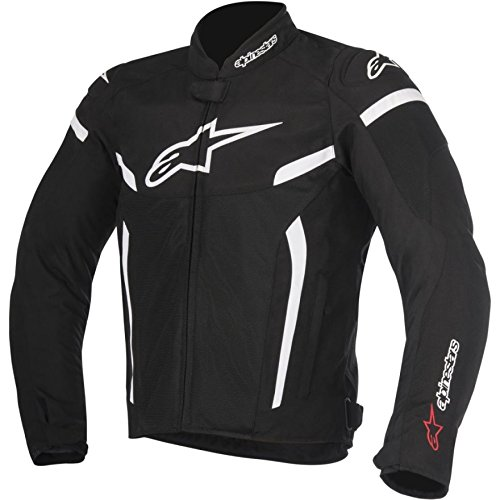 2 Mens Motorcycle Jacket - Alpinestars T-GP Plus R Air V2 Men's Street Motorcycle Jackets - Black/Small
