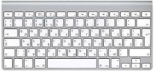 Apple - Teclado inalámbrico, ruso