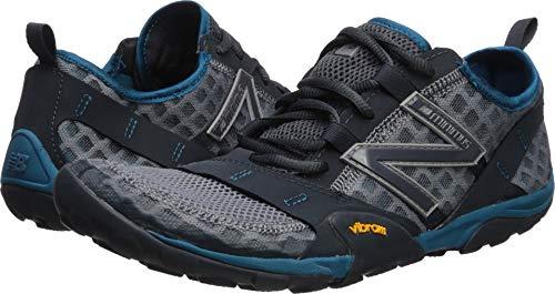 New Balance Men's 10v1 Minimus Running Shoe, Gunmetal/orca/Dark Neptune, 10.5 W US