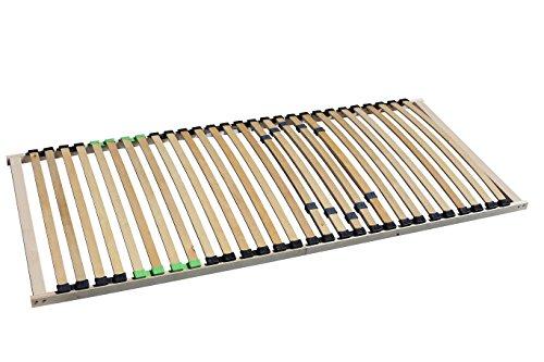 i-flair® - 5 Zonen Lattenrost 140x200 cm, 28 Leisten, mit Härteregelung - EINFÜHRUNGSPREIS