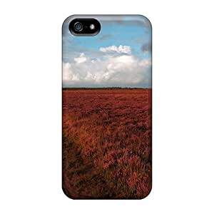 Hot Design Premium PlU29760yfKn Cases Covers Iphone 5/5s Protection Cases(puddle After Rain)
