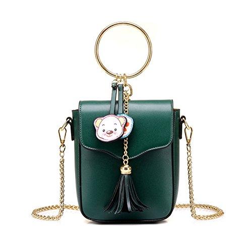 Sac Mini Pour Sac Téléphone Ryyy Bandoulière Summer Sac à New Bag Femmes Portable Chaîne Les Green Mignon Messenger q0qSOw