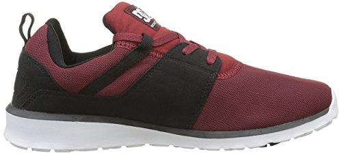 DC Shoes Heathrow - Zapatillas Para Hombre Rojo (Chili Pepper)