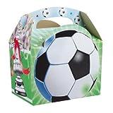 20 x FOOTBALL Party Food Box