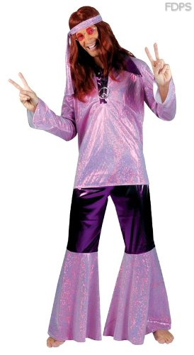 Desconocido Disfraz Traje Vestimenta de Fiebre Hippie para ...