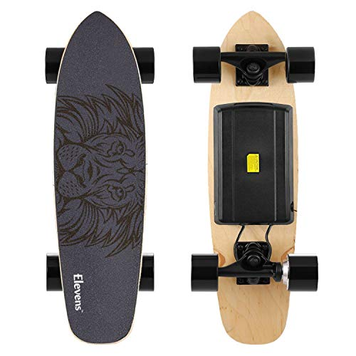 """H&A 28"""" Electric Longboard Skateboard with 400W Brushless Motor"""