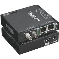 BLACK BOX LBH100A-H-ST-12 MEDIA CONVERTER SWITCH, HARDENED, ST, 12VDC