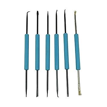 WINOMO - Juego de Juego de seis herramientas auxiliares para soldadura: Amazon.es: Bricolaje y herramientas